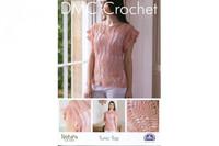Tunic Top Crochet Pattern Leaflet  By DMC