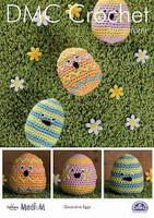 Decorative Eggs Crochet Pattern by DMC