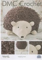 Hedgehog Pouffe  Crochet Pattern by DMC