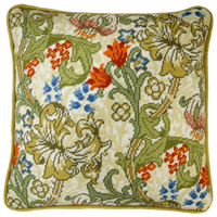 William Morris: Golden Lily Full Colour Printed Tapestry Kit