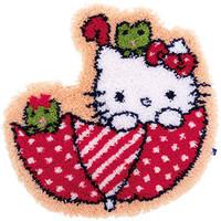 Hello Kitty: In the Umbrella Latch Hook Rug