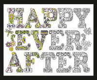 Zenbroidery - Happily Ever After Conton Fabric by Design Works