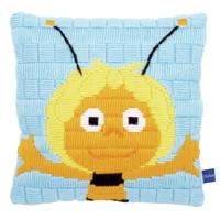 Maya: Glad Cushion Long Stitch Kit By Vervaco