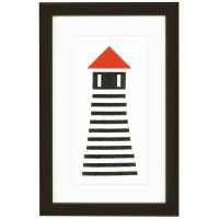 Lighthouse Cross Stitch Kit By Vervaco