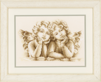 Dreaming Angels Cross Stitch Kit By Vervaco