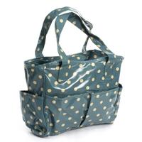 Craft Bag:  PVC: Blue Spot Design from Hobbycraft