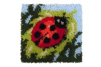 Ladybird Latch Hook Rug  By Grafitec