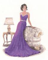 'Grace' from John Clayton's 'Elegance' Cross stitch Kit