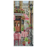 French City Scene Cross Stitch Kit By Anchor