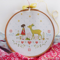 Nature Girl Embroidery Kit By DMC