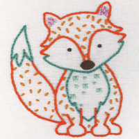 1st Kit: Fox Embroidery Kit By Anchor