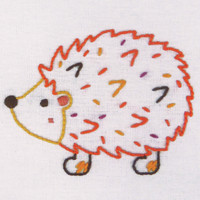 1st Kit: Hedgehog Embroidery Kit By Anchor
