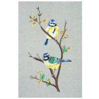 Freestyle: Blue Tits Kit Embroidery Kit By Anchor
