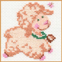 Biasha Cross Stitch Kit by Alisa