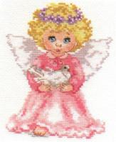 Little Angel Cross Stitch Kit by Alisa