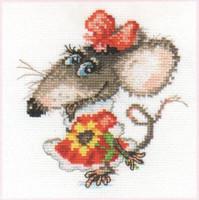 Mousy Cross Stitch Kit by Alisa