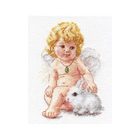 Protecting Angel Cross Stitch Kit by Alisa