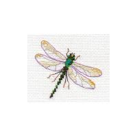 Dragonfly Cross Stitch Kit by Alisa