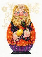 Grandpa Cross Stitch Kit by Alisa