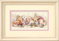 Seashell Treasures Cross Stitch Kit