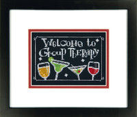 Group Therapy Cross Stitch Kit By Dimensions