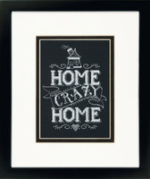 Home Crazy Home Cross Stitch Kit By Dimensions