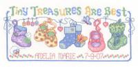 Tiny Treasures Chart By Ursula Michael
