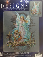Guardian Angel Counted Cross Stitch Kit By Janlynn