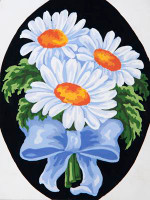 Daisies Tapestry Canvas By Grafitec