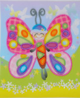 Fairytale Butterfly Emboidery Kit By Riolis