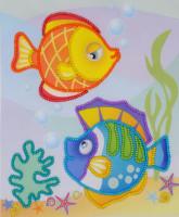 Sea Fish Emboidery Kit By Riolis