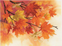 Autumn Colours Cross Stitch Kit By Riolis