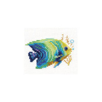 Tropical Fish Cross Stitch Kit by Alisa
