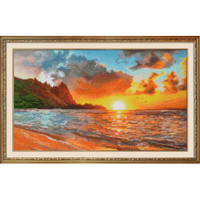 Sunset Cross Stitch Kit By Oven