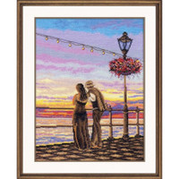 Romantic Evening Cross  Stitch Kit by Oven