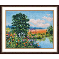 Summer Colours Cross Stitch Kit by Oven