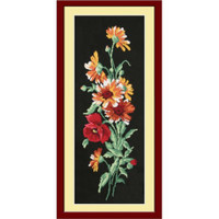 Chamomile Bouquet Cross Stitch  Kit by Oven
