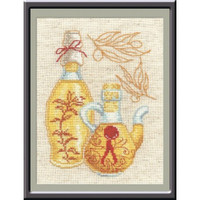 Kitchen Collection III Cross Stitch Kit by Oven