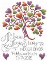 Love Story Wedding Cross Stitch Chart