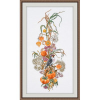 Autumn Composition Cross Stitch Kit by Oven