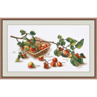 Bunch of apples Cross Stitch Kit by Oven