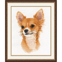 Little Friend Chihuahua Cross Stitch Kit by Oven
