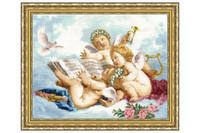 Angels Cross Stitch Kit by Golden Fleece