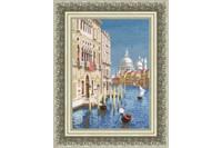 Beatiful Venice Cross Stitch Kit by Golden Fleece