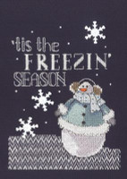 Freezin' Season Cross Stitch By Janlynn