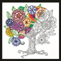 Zenbroidery - Tree Embroidery Kit By Design Works
