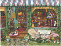 Antiques, Etc Cross Stitch Kit By Janlynn
