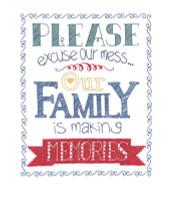 Making Memories Embroidery Kit By Janlynn