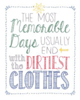Most Memorable Days Embroidery Kit By Janlynn