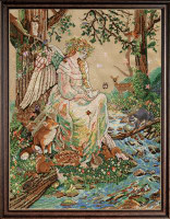 Mother Nature Cross Stitch Kit By Design Works